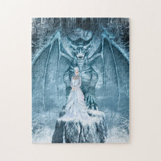 Ice Queen and Dragon Puzzle