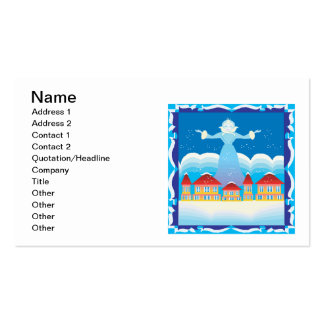 Ice Queen Business Cards