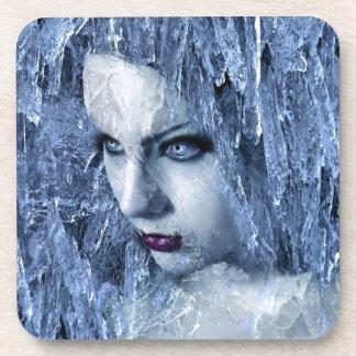 ice queen drink coasters