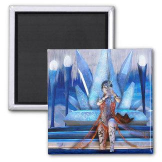 Ice Queen Fantasy Art Fridge Magnets