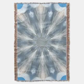 Ice Queen Kaleidoscope Afghan