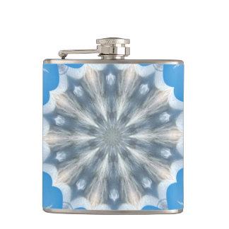 Ice Queen Kaleidoscope Flask
