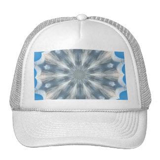 Ice Queen Kaleidoscope Mesh Hats