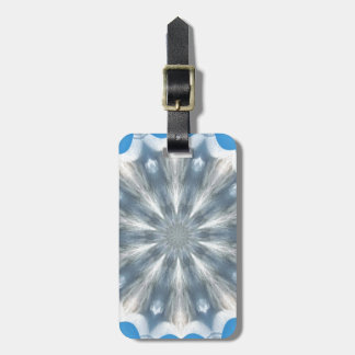 Ice Queen Kaleidoscope Luggage Tags