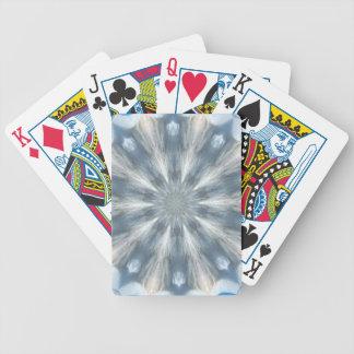Ice Queen Kaleidoscope Bicycle Poker Deck
