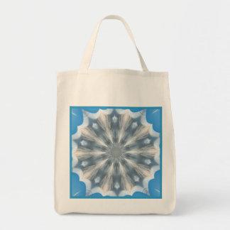 Ice Queen Kaleidoscope Reusable Tote Bag