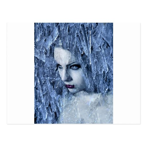 ice queen post card