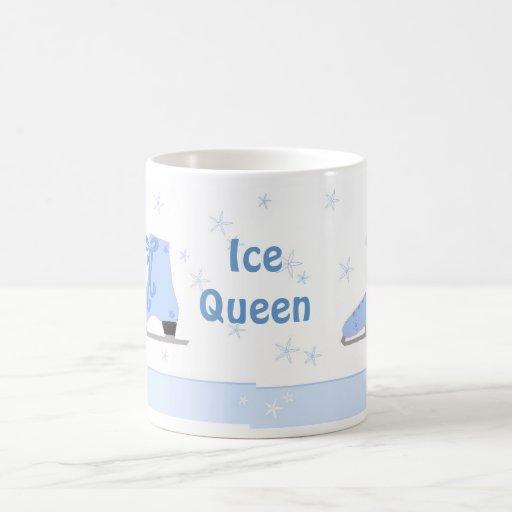 Ice Queen - Skating Design Coffee Mugs