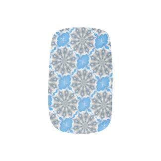 Ice Queen Snowflakes Kaleidoscope Nail Art