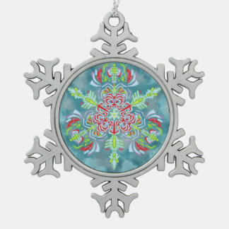 Ice Queen's Snowflake Ornament