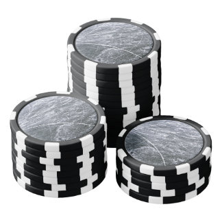 Ice rink poker chips