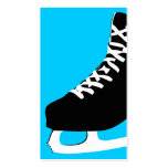 ice skate pack of standard business cards