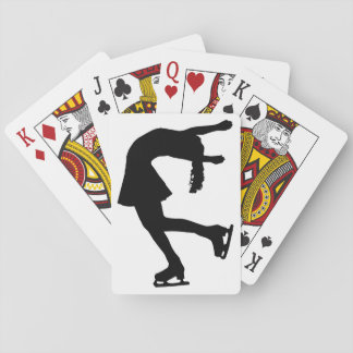 Ice Skater Playing Cards