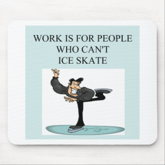 ice skater's delight mouse pad