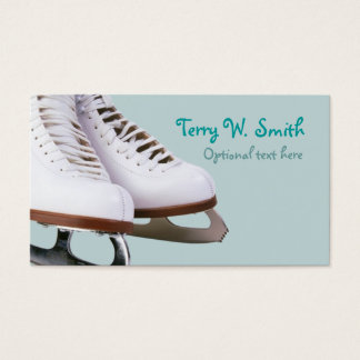 Ice Skates Business Card