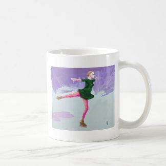 Ice Skating Art Coffee Mug