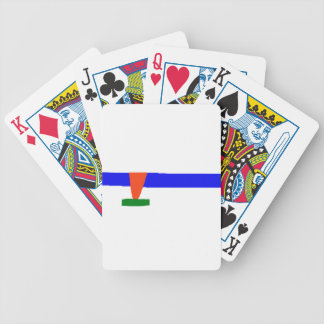 Ice Skating Bicycle Playing Cards