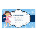 Ice Skating (Blue) Pack Of Standard Business Cards