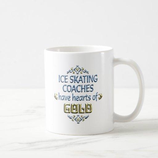 Ice Skating Coach Appreciation Coffee Mugs