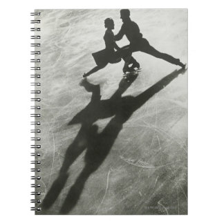 Ice Skating Couple Notebook