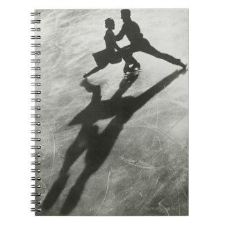 Ice Skating Couple Notebooks