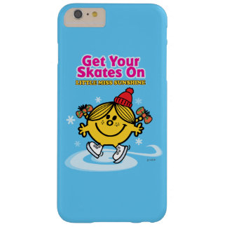 Ice Skating Little Miss Sunshine Barely There iPhone 6 Plus Case