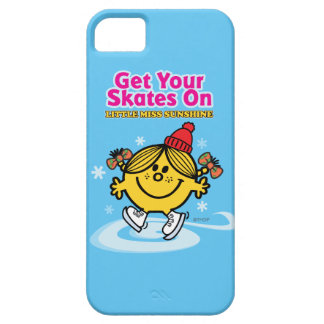 Ice Skating Little Miss Sunshine iPhone 5 Case