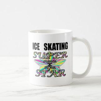 ice skating classic white coffee mug
