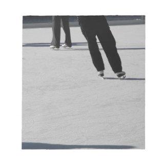 Ice Skating Notepad