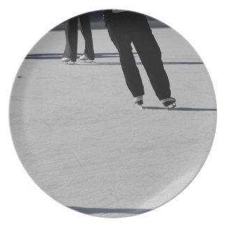 Ice Skating Plate