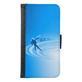 Ice Skating Samsung Galaxy S6 Wallet Case