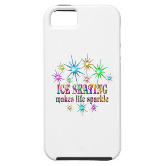 Ice Skating Sparkles iPhone 5 Cover