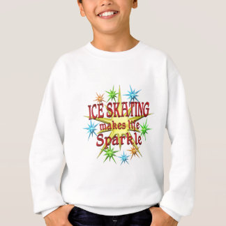 Ice Skating Sparkles Sweatshirt