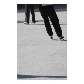 Ice Skating Stationery