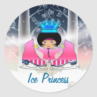 Ice Skating Stickers