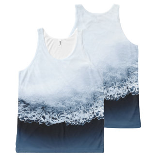 Ice, snow and moving water All-Over print singlet