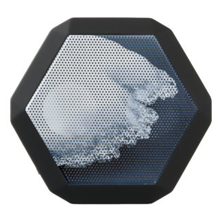 Ice, snow and moving water black bluetooth speaker