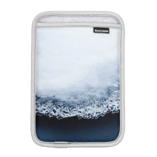 Ice, snow and moving water iPad mini sleeve