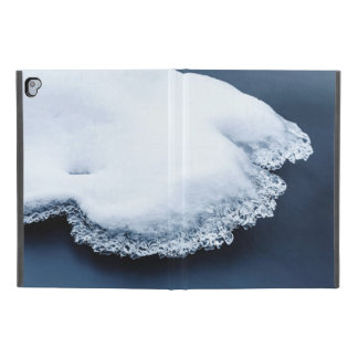 "Ice, snow and moving water iPad pro 9.7"" case"