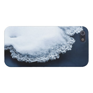 Ice, snow and moving water iPhone 5 case