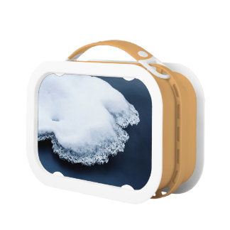 Ice, snow and moving water lunch box