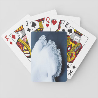 Ice, snow and moving water playing cards