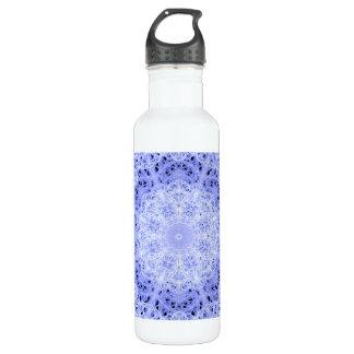 Ice Swirls Mandala 710 Ml Water Bottle