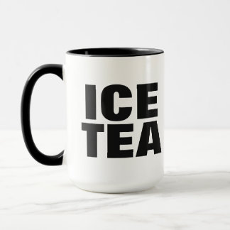 ICE TEA mugs