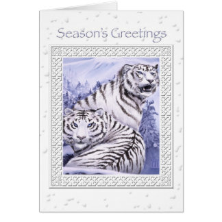 Ice Tigers Christmas Card