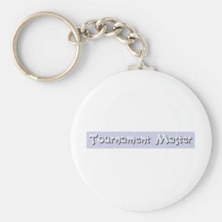 ice_tournamentmaster basic round button key ring