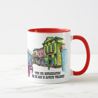 Ice Wagon Mug