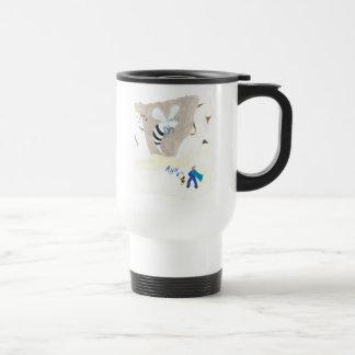 Ice Wasp Mountain Travel Mug