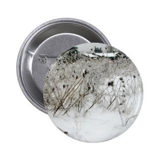 Ice Weeds 6 Cm Round Badge