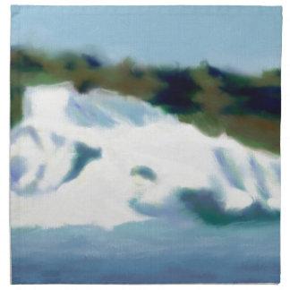 Iceberg Art Printed Napkin
